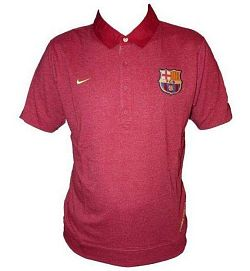Tričko NIKE NIKE FCB POLO RED