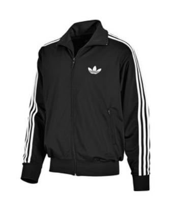 Mikina-bunda pánská Adidas FIREBRIT TRACK TOP černá Bunda Adidas ...