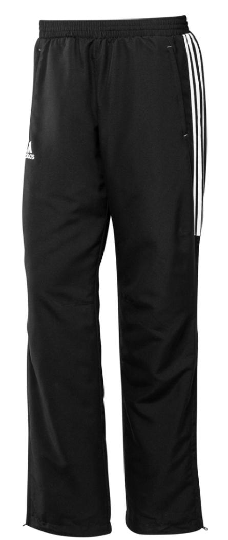 Pánské kalhoty Adidas T12 černé 31436ac49f