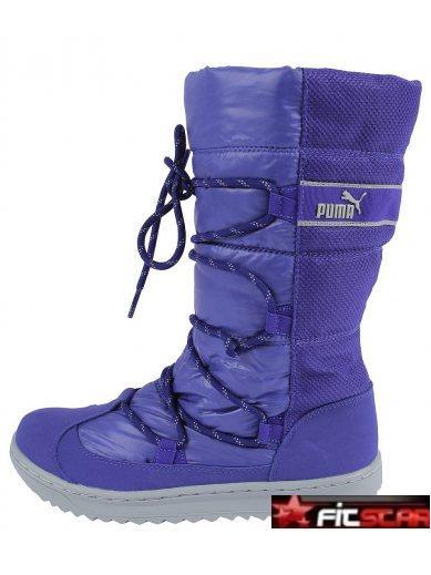 4fa10609b6e Dámské boty Adidas Fortanima černé. Dámské sněhule Puma fialové Dámské  sněhule Puma fialové - klikněte pro větší náhled