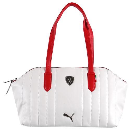 Kabelka Puma Ferrari LS Handbag bílá 995bc24d706