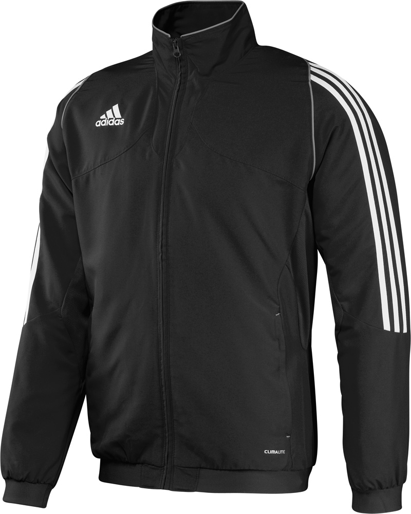 Bunda-mikina pámská Adidas T12 na zip černá 702f0dad67