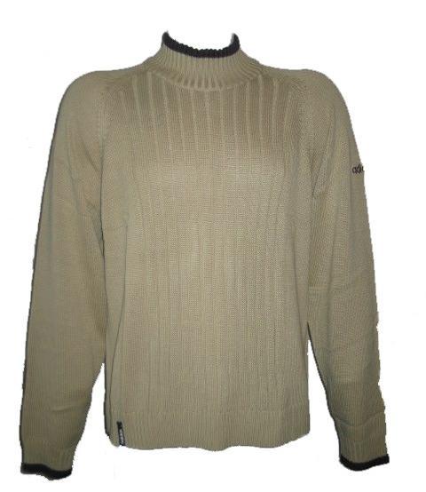 eb825028cb4 Pánský svetr Adidas ADIDAS PUTTER T-NECK BEIGE