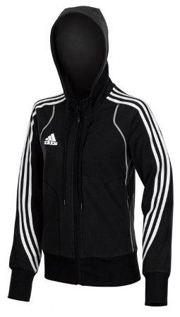 Dámská mikina-bunda Adidas s kapucí černá e679bf085e