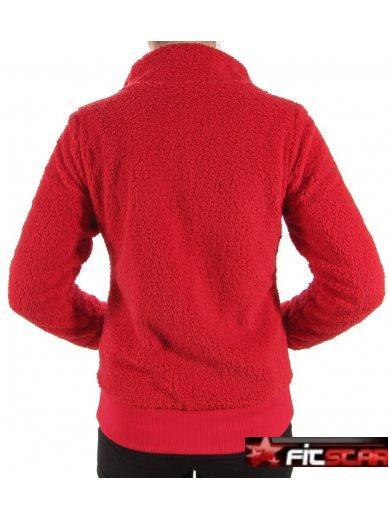 Dámská fleecová mikina O Neill červená 9bc56a6021