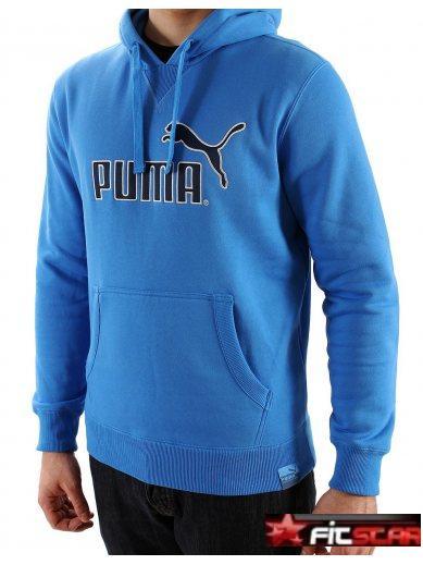 Pánská mikina Puma s kapucí modrá 1a1885884d