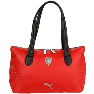 Kabelka Puma Ferrari LS Handbag červená
