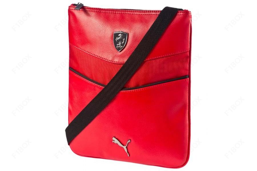 Taška přes rameno Puma Ferrari červená 465ad83a583