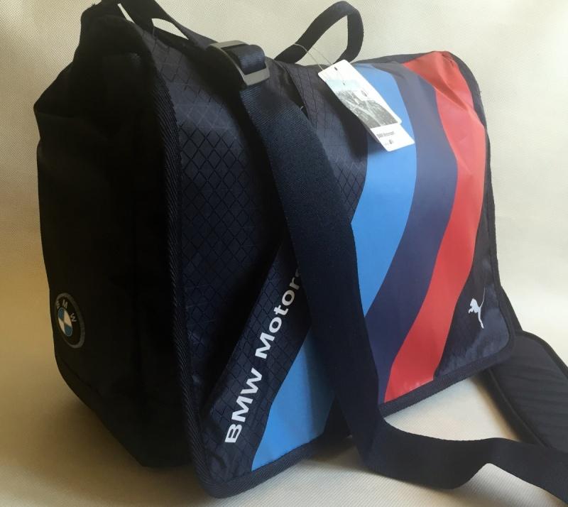 5e937e6c4b9 Taška přes rameno na notebook Puma BMW
